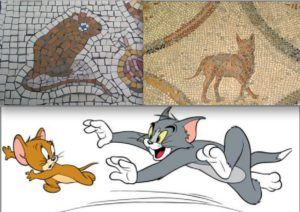 Souris et chats : Mosaïques romaines et cartoon hollywoodien